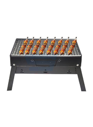 RoyalFord 2 Pieces Stainless Steel Folded Barbeque Grill Rack Set, RF8098, Black