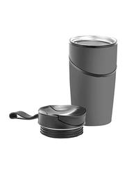 RoyalFord 350ml Stainless Steel Coffee Mug, RFU9033, Grey