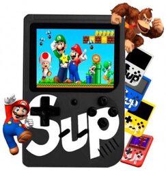 SUP Game Box 400 Retro Games in 1 Mini Console, Black