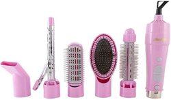 Geepas 3 in 1 Hair Styler, GH714, Pink
