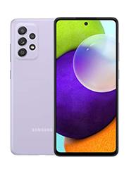 Samsung Galaxy A52 128GB Violet, 8GB RAM, 4G LTE, Dual Sim Smartphone, UAE Version