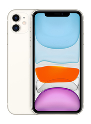Apple iPhone 11 128GB White, With FaceTime, 4GB RAM, 4G LTE, Dual Sim Smartphone, Hong Kong Version