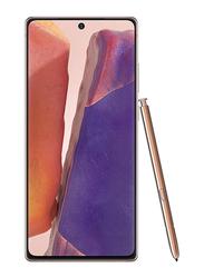 Samsung Galaxy Note 20 256GB Mystic Bronze, 8GB RAM, 4G LTE, Dual Sim Smartphone, UAE Version