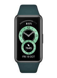 Huawei Band 6 Smartwatch, Forest Green
