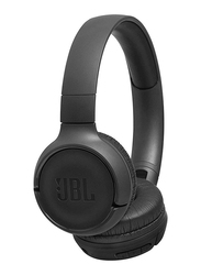 JBL Tune 500BT Wireless On-Ear Powerful Bass Headphones with Mic, Black