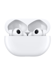 Huawei FreeBuds Pro True Wireless In-Ear Noise Cancelling Earphones with Mic, Ceramic White