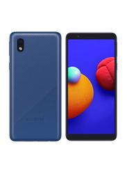 Samsung Galaxy A01 Core 16GB Blue, 1GB RAM, 4G LTE, Dual Sim Smartphone, UAE Version