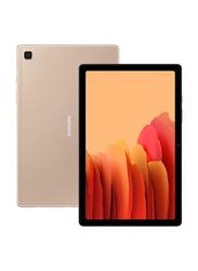 Samsung Galaxy Tab A7 32GB Gold 10.4-inch Tablet, 3GB RAM, Wi-Fi + 4G LTE, UAE Version