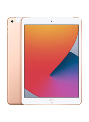 Apple iPad 2020 8th Gen 128GB Gold 10.2-inch Tablet, With FaceTime, 3GB RAM, Wi-Fi Only
