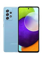 Samsung Galaxy A52 128GB Blue, 8GB RAM, 5G, Dual Sim Smartphone, UAE Version