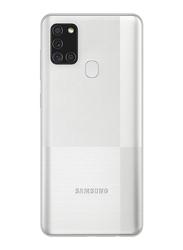 Samsung Galaxy A21s 128GB Silver, 4GB RAM, 4G LTE, Dual Sim Smartphone, UAE Version