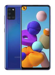 Samsung Galaxy A21s 64GB Blue, 4GB RAM, 4G LTE, Dual Sim Smartphone, UAE Version