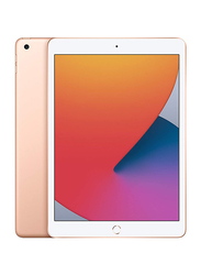 Apple iPad 2020 (8th Generation) 128GB Gold 10.2-inch Tablet, With FaceTime, 3GB RAM, WiFi Only, International Specs