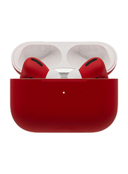 Switch Custom Painted Original Apple AirPods Pro Wireless In-Ear Noise-Canceling Earbuds with Mic, Matte Finish, Ferrari Red