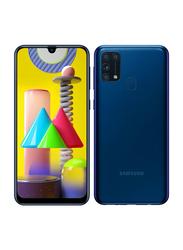 Samsung Galaxy M31 128GB Blue, 6GB RAM, 4G LTE, Dual Sim Smartphone, UAE Version
