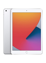 Apple iPad 2020 (8th Generation) 128GB Silver 10.2-inch Tablet, With FaceTime, 3GB RAM, WiFi Only, International Specs
