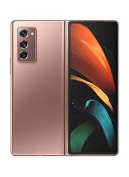 Samsung Galaxy Z Fold 2 256GB Mystic Bronze, 12GB RAM, 5G, Dual Sim Smartphone, UAE Version