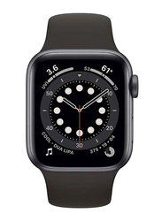Apple Watch Series 6 - 40mm Smartwatch, GPS, Space Gray Aluminum Case with Black Sport Band