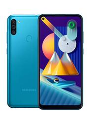 Samsung Galaxy M11 32GB Metallic Blue, 3GB RAM, 4G LTE, Dual Sim Smartphone, UAE Version