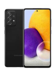 Samsung Galaxy A72 256GB Black, 8GB RAM, 4G LTE, Dual Sim Smartphone, UAE Version