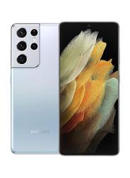 Samsung Galaxy S21 Ultra 256GB Phantom Silver, 12GB RAM, 5G, Dual Sim Smartphone, UAE Version