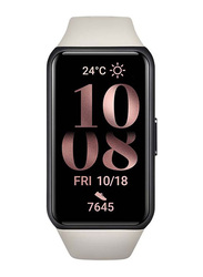 Honor Band 6 Smartwatch with Blood Oxygen and Heart Rate Monitor, Sandstone Grey