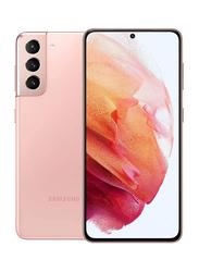Samsung Galaxy S21 256GB Phantom Pink, 8GB RAM, 5G, Dual Sim Smartphone, Middle East Version