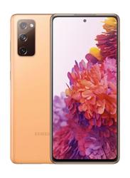 Samsung Galaxy S20 FE 128GB Cloud Orange, 8GB RAM, 4G LTE, Dual Sim Smartphone, Middle East Version