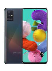 Samsung Galaxy A51 128GB Black, 6GB RAM, 4G LTE, Dual Sim Smartphone, UAE Version
