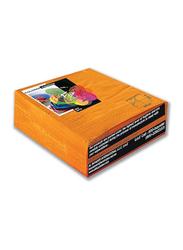Fun Color 2-Ply Paper Napkins, 33 cm, Citrus, 50 Pieces