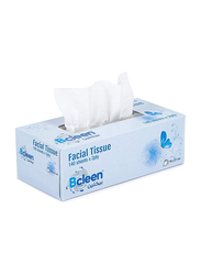Bcleen Premium 2-Ply Facial Tissue Paper, 140 Sheets