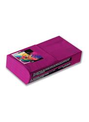 Fun Color 2-Ply Paper Napkins, 25cm, Plum, 100 Pieces