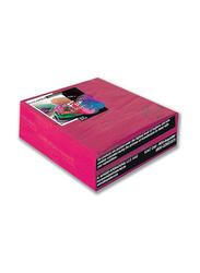 Fun Color 2-Ply Paper Napkins, 33 cm, Fuchsia, 50 Pieces