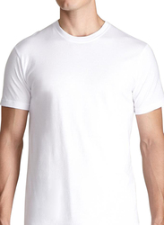 Ideal Club Short Sleeve T-Shirt for Men, 3 Pieces, White
