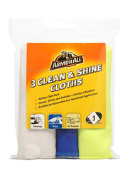 Armor All 3 Clean & Shine Cloth, 3 Pieces