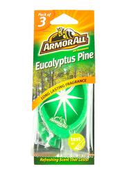 Armor All Eucalyptus Pine Air Freshener, 3 Pieces
