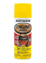Rust-Oleum Ceramic Engine Enamel, Daytona Yellow, 340gm