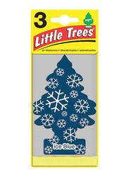 Little Trees Ice Blue Paper Air Freshener, Blue