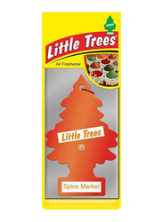 Little Trees Spice Market Paper Air Freshener, Red