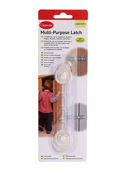 Clippasafe Multi-Purpose Latch, White