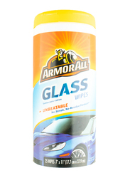 Armor All Glass Wipes Bon Pack, 25 Count