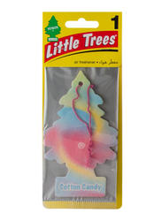 Little Trees Cotton Candy Paper Air Freshener, Multicolor