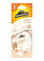 Armor All Classic Cotton Air Freshener, 3 Pieces