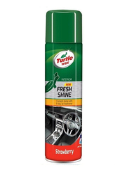 Turtle Wax Strawberry Fresh Cockpit Shine Airfreshner, 390gm
