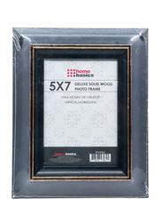 Home Basics Rustic Wood Finish Picture Frame, 12 x 17cm, Black