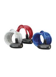 Master Lock Vinyl Cable, 1.8 Meter/8mm, 3 Pieces