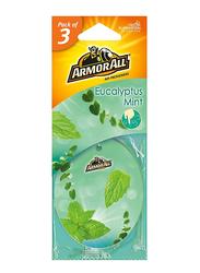 Armor All Eucalyptus Mint Air Freshener, 3 Pieces
