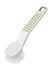 Addis Dish Brush, White/Green