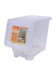 Keyway 16L Stack & Nest Storage Bin, White