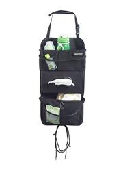 High Road Talus Tissue Pockets Car Seat Back Organizer, Black, 11x4.25x21 Inch